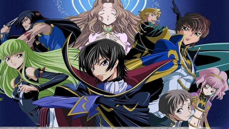 Code Geass - Anime Where MC Is Betrayed And Becomes Evil