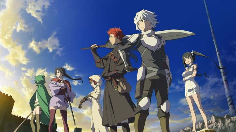 Danmachi - Anime Where MC Is Betrayed And Becomes op