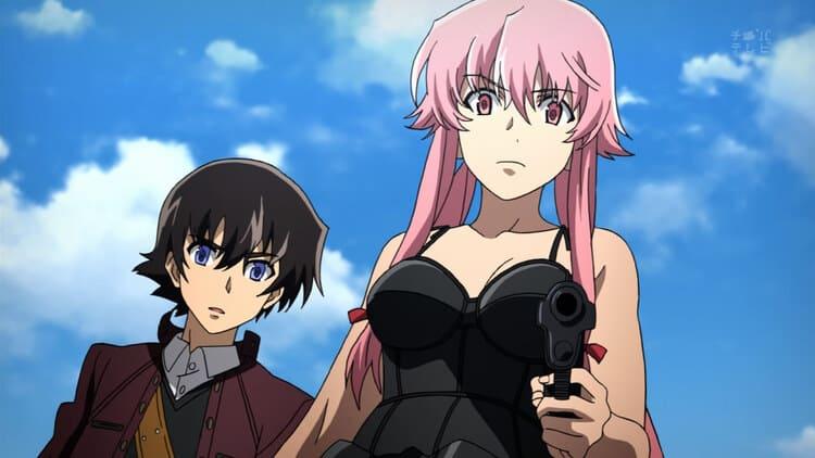 Mirai Nikki - Anime Where The MC Is Hurt Betrayed By A Girl