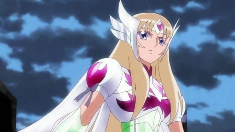Aquila Yuna from Saint Seiya Omega - wind user anime