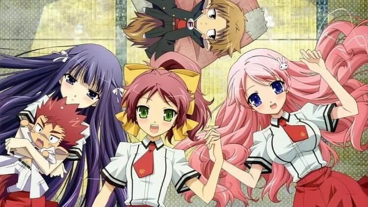 Baka to Test to Shoukanjuu - Anime Like Assassination Classroom