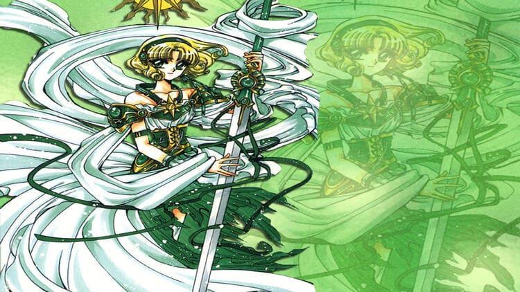 Fuu Hououji from Magic Knight Rayearth - wind user anime