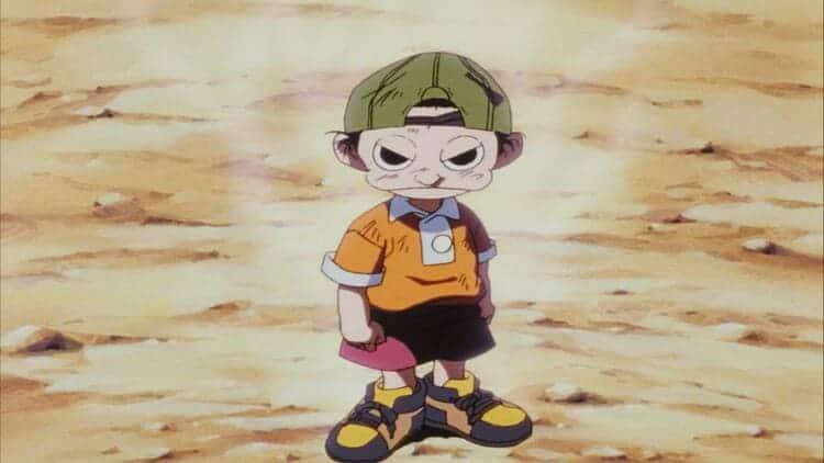 Fuusuke from Ninku - wind users in anime