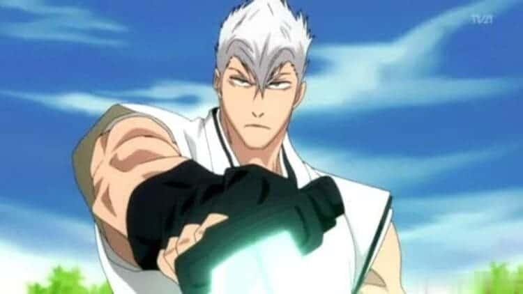 Kensei Muguruma from Bleach - wind user anime male