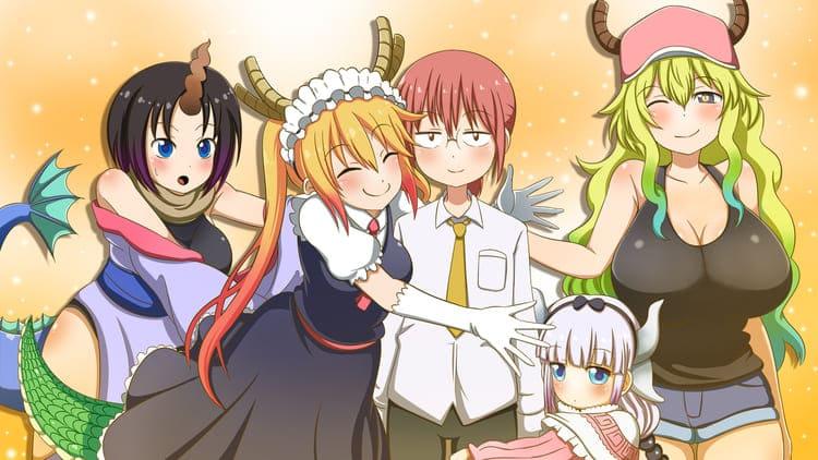Kobayashi-san Chi No Maid Dragon Anime
