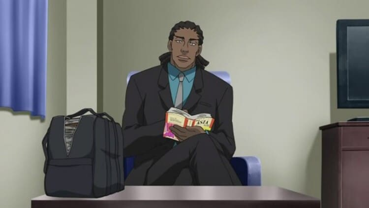 Luc from Darker than Black - wind users anime male