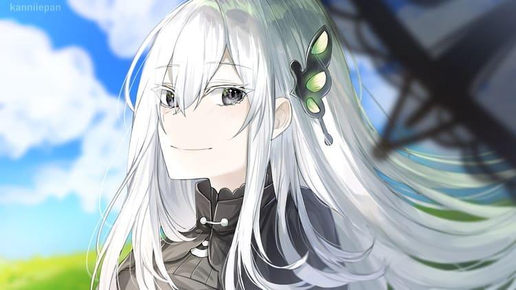 Echidna - white hair anime girl