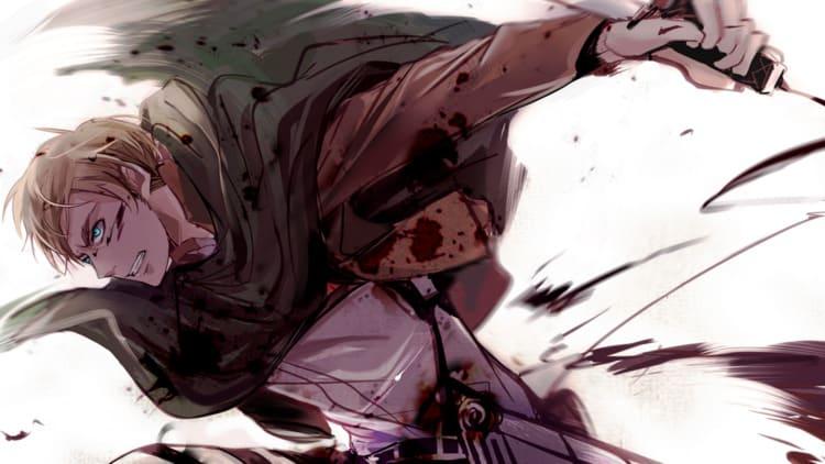 Erwin Smith - Libra Anime Characters