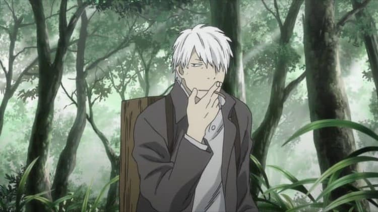 Ginko - Pisces anime characters