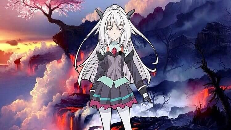 Orphelia Landlufen - beautiful anime girls with white hair