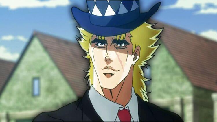 Robert E. O. Speedwagon - Libra Anime Characters