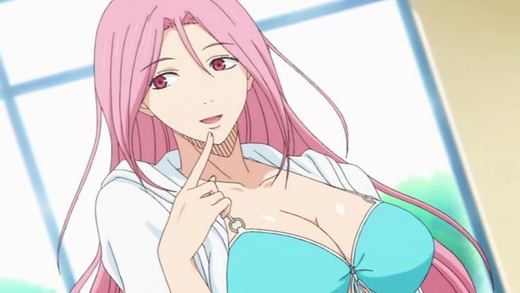 Satsuki Momoi - busty anime girl