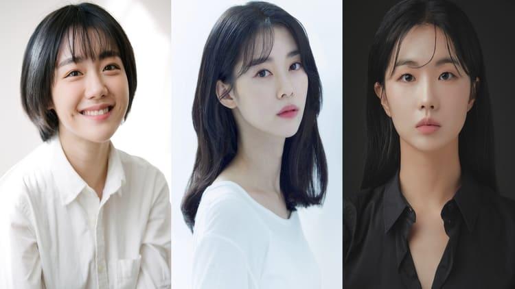 So Joo-yeon, Jeong Yi-seo, and Jo-in