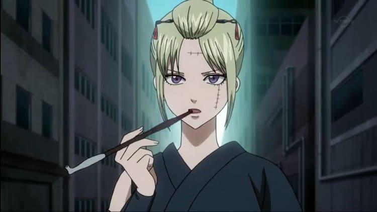 Tsukuyo - busty anime woman