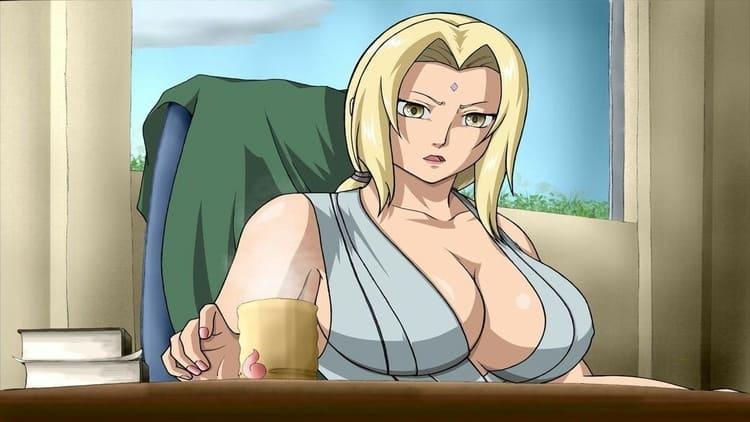 Tsunade Senju- busty anime woman