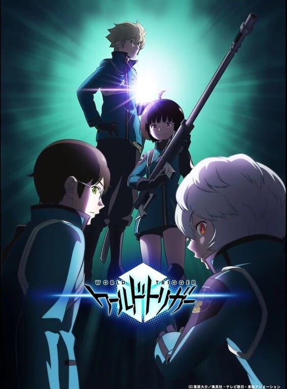 World Trigger Anime Season 3 Key Visual Release