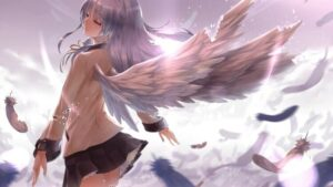 13 Anime Girl With Wings Like Blissful Angels