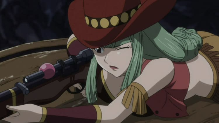 Bisca Connell - Anime Girl With Gun