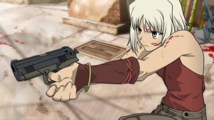 Canaan - Anime Girl With Gun