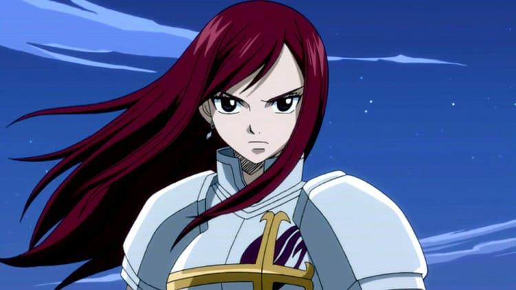 Erza Scarlet - Anime Angry Girl