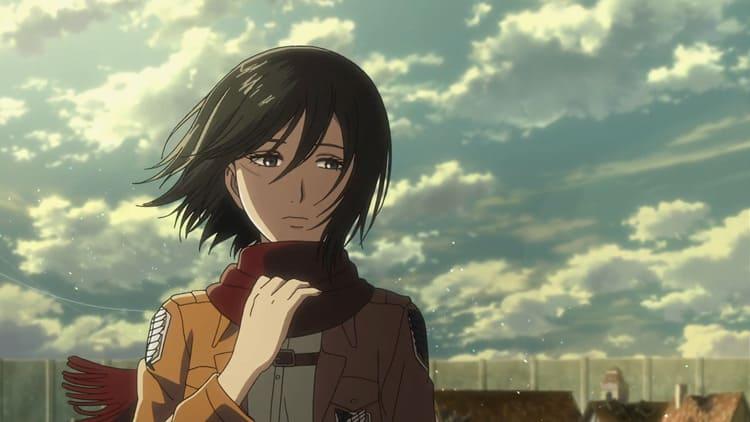 Mikasa - Anime Angry Girl