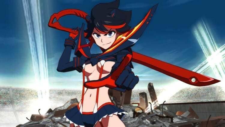 Ryuko Matoi - Angry Anime Girl