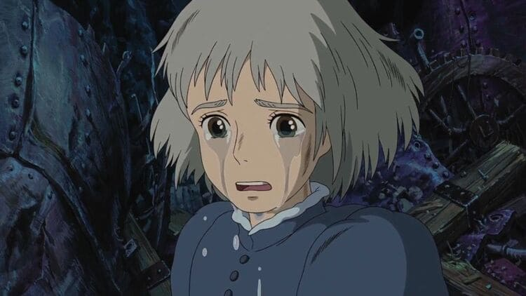 Sophie Hatter - Anime Girl Crying