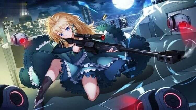 Tina Sprout - Anime Girl Gun